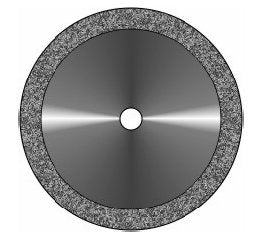 RAC Rim Double Sided Diamond Disc Thick (0.40mm)