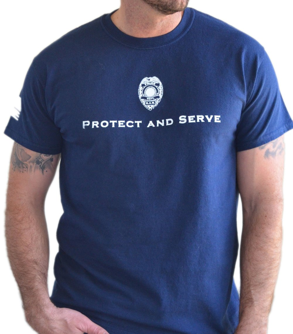 Police Tribute - Protect and Serve