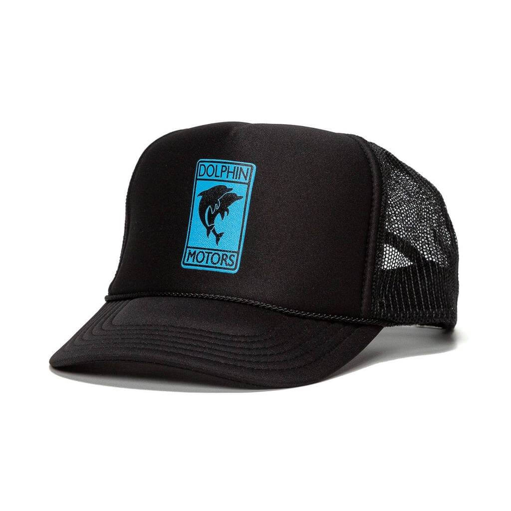 trucker in black