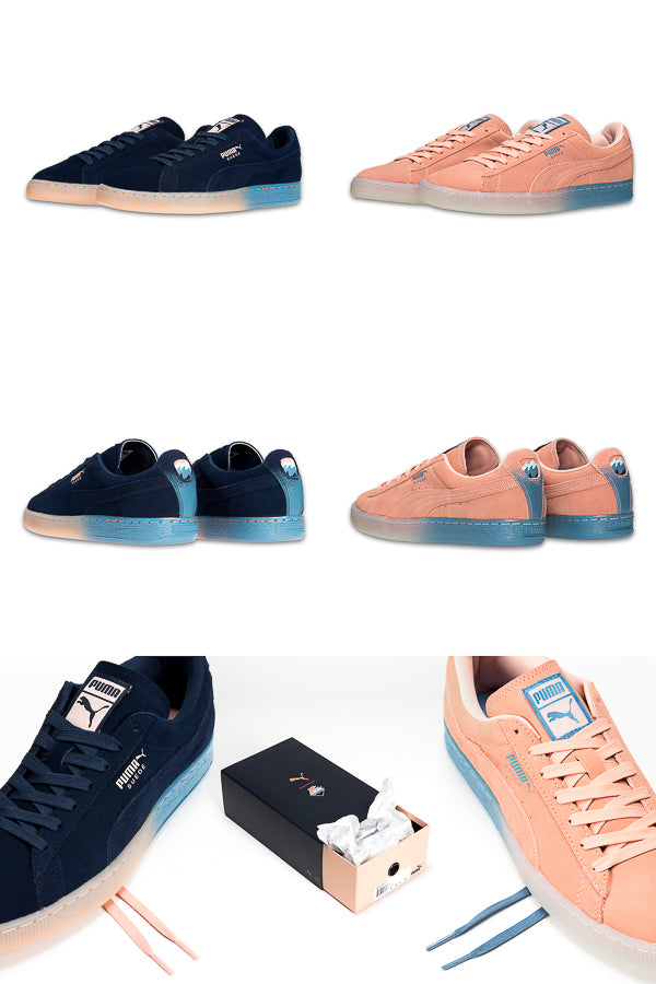pink dolphin x puma suede