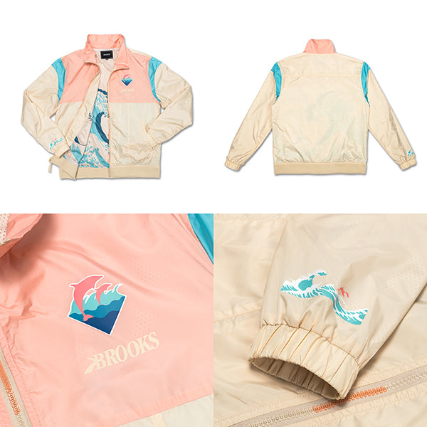 best service 858f8 32578 Brooks Heritage x Pink Dolphin collection