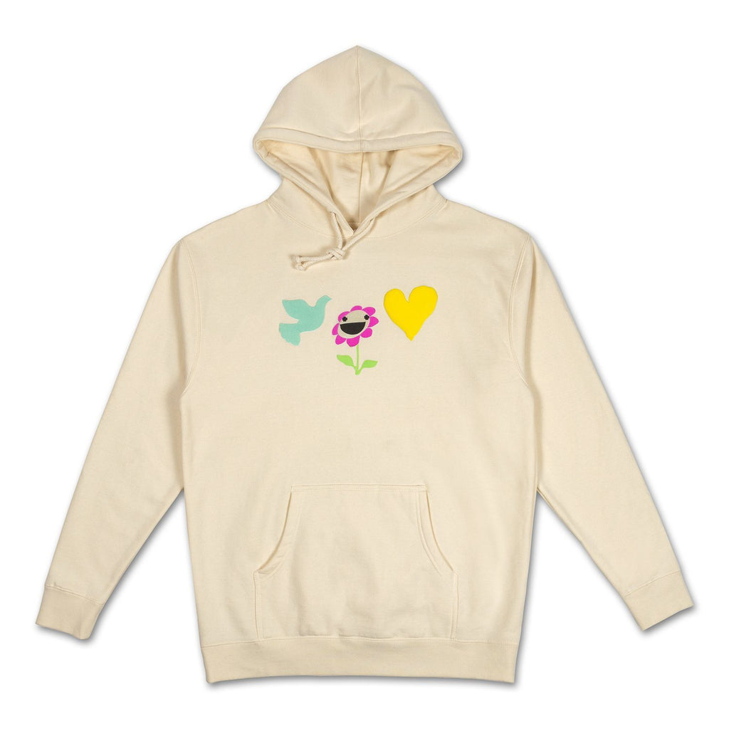Be Kind Hoodie in Off White