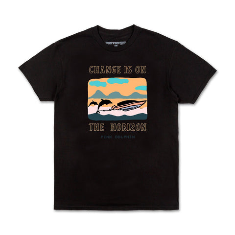 Change Is On The Horizon Tee in Black