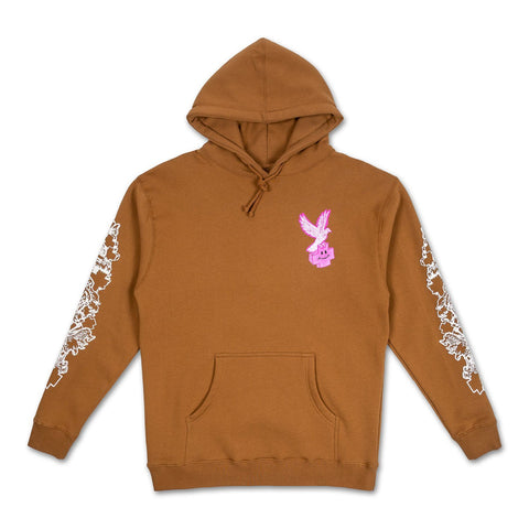 Eagle Hoodie in Brown