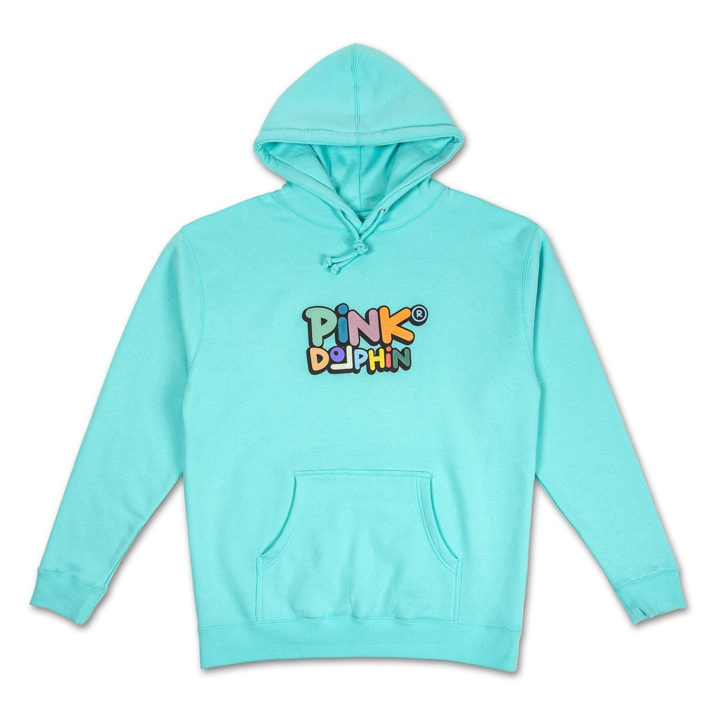 Holiday Script Hoodie in Multi