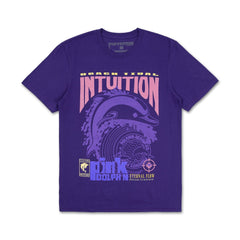 Intuition Tee in Purple