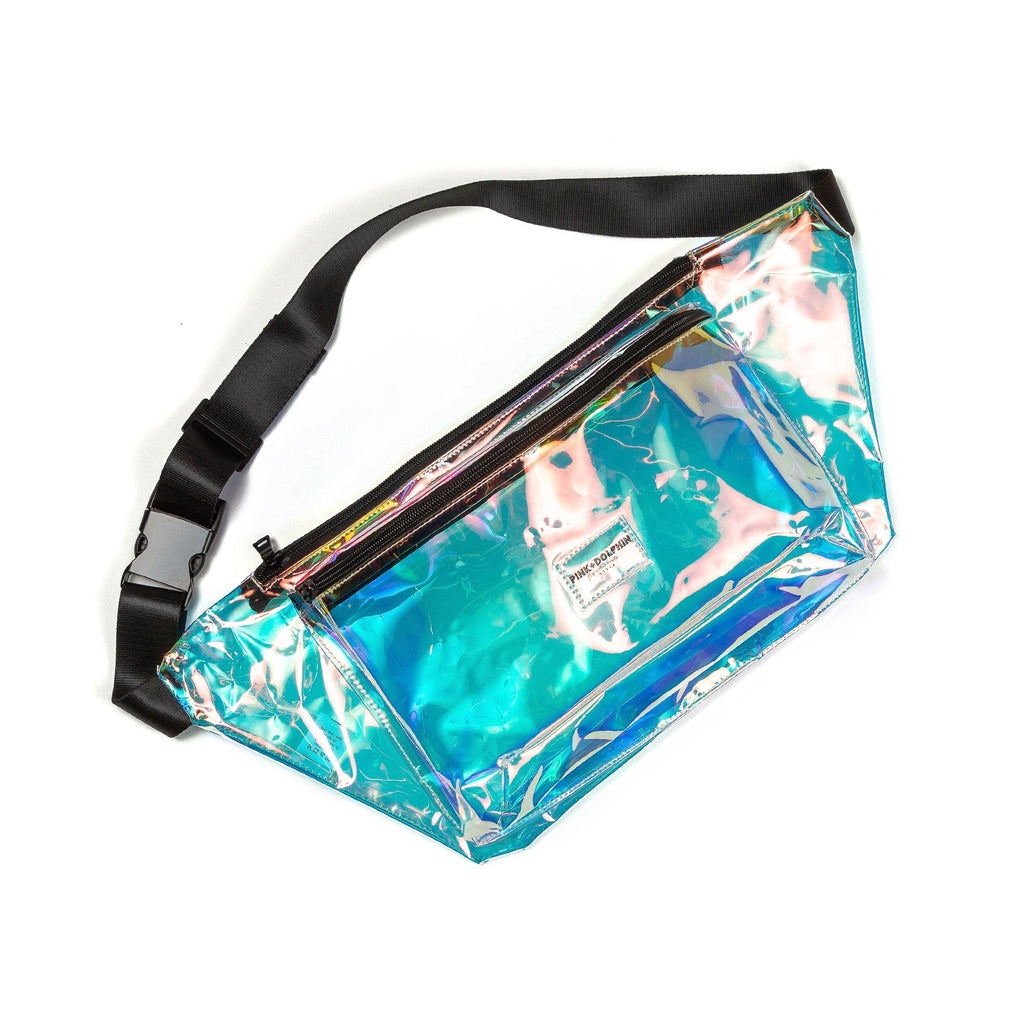 Jumbo Sling Bag in Clear Spectrum