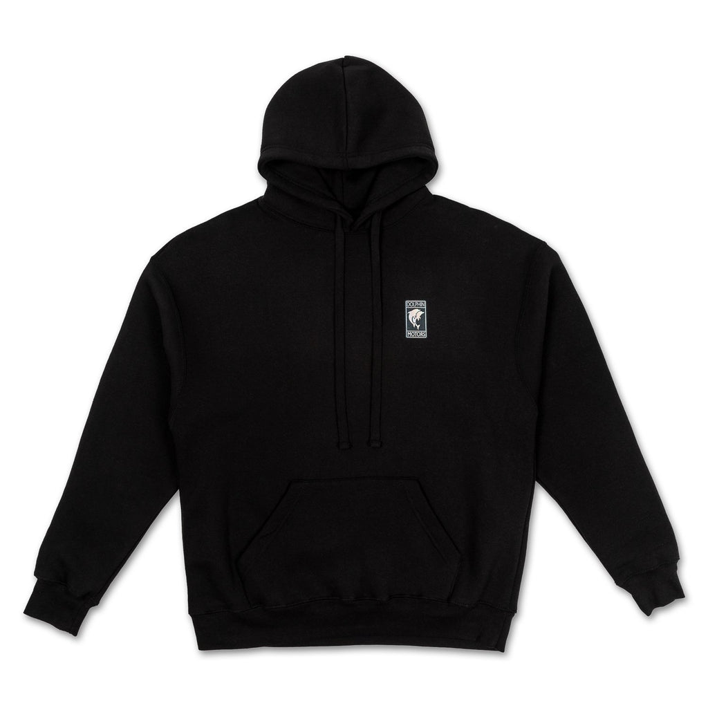 Motorsport Sunset Hoodie in Black
