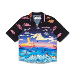 Paradise Sunset Motorsports Button-Up