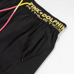 PD Athletic Shorts in Black