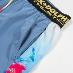 PD Athletic Shorts in Blue