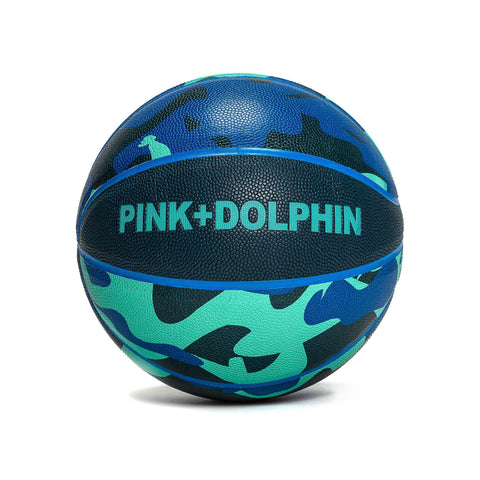 PD Camo Basketball in Ocean