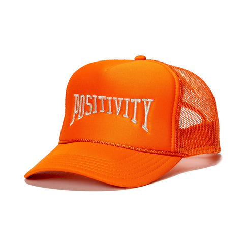 Positivity Hat in Orange