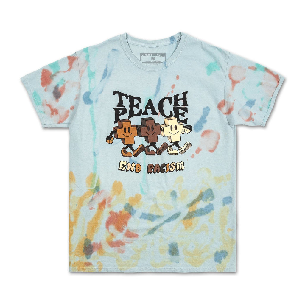 Teach Peace Tee in Multi
