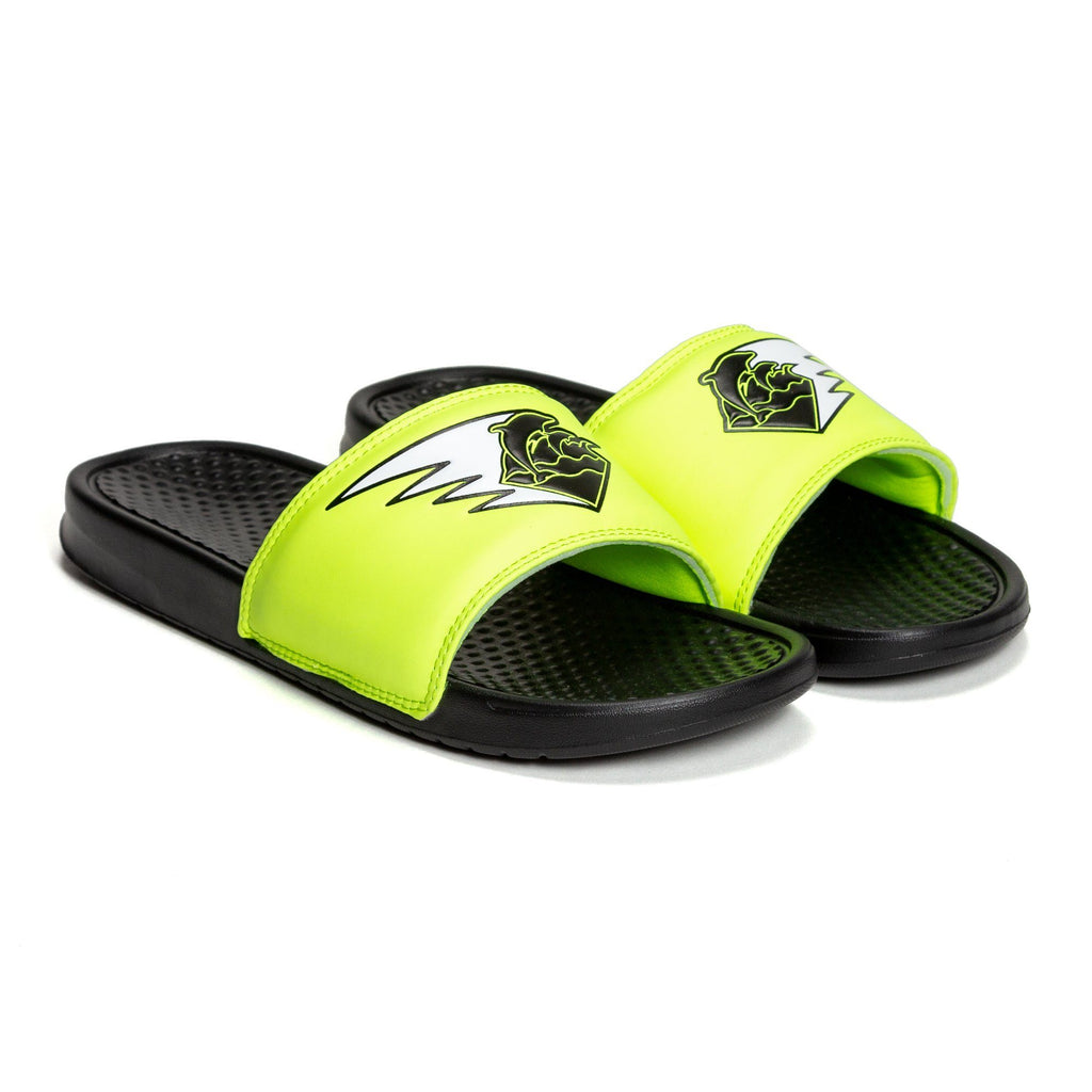 Wave Streak Slides in Black