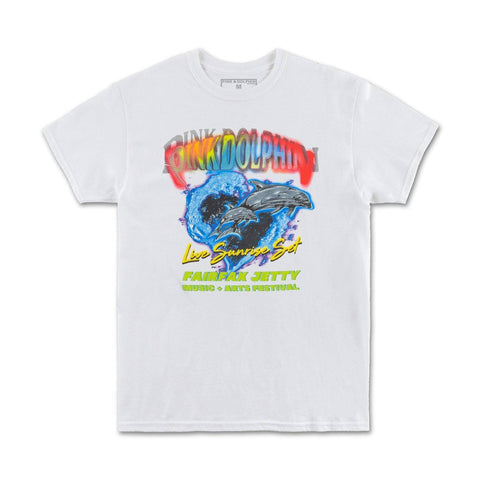 Yacht Tour Tee in White