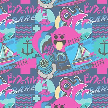 Pink+Dolphin Wallpaper