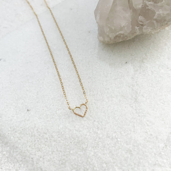 Mini Heart Semi Choker (Adult Size)