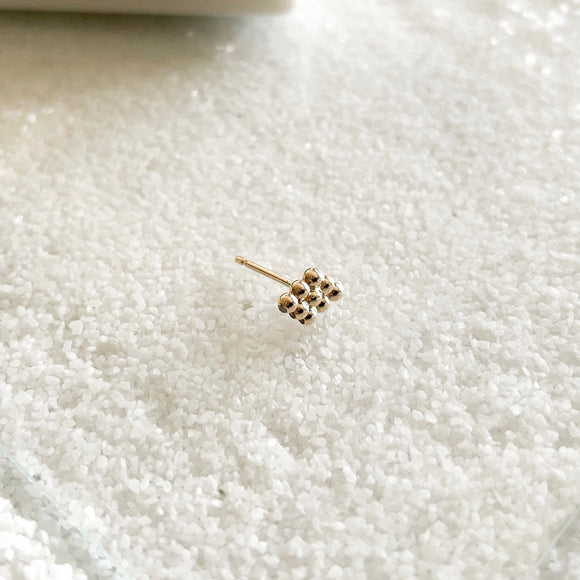 Dewdrop Collection - You didn't know you need, but now you won't be able to live without!  Start a new day with dewdrop earrings that bring magic and spark joy in your life.  These minimal dainty stud are the perfect addition to your everyday stack and your new favorite earring that you never wanna take off!     14k Gold Filled  Approximately 5mm x 10mm (0.2