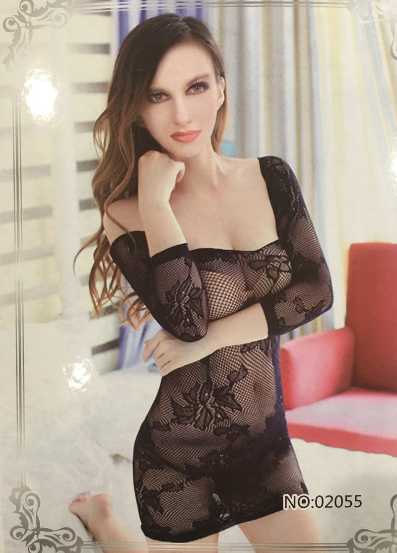 Sleeved Knit Chemise - Babe You