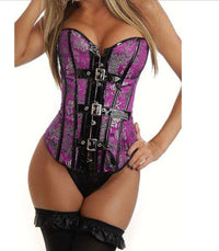 Purple Dragon Corset - Babe You