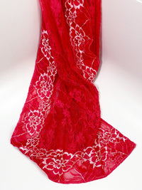 Iridescent Red Hip Scarf - Babe You