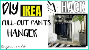 Another Ikea Hack for you guys! Today I've created a DIY Komplement pull-out hanger pax wardrobe