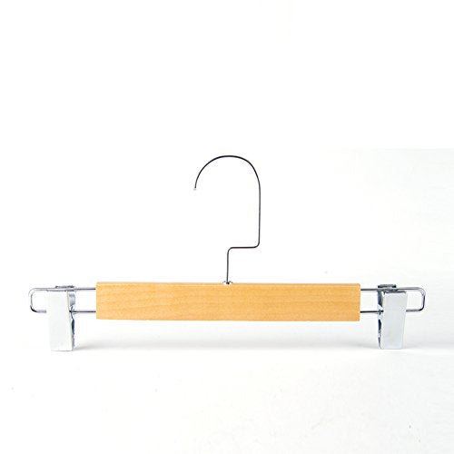 DXG&FX Solid wood hanging pants rack hanger Stretch pants hanging Clothing store without skirt-A