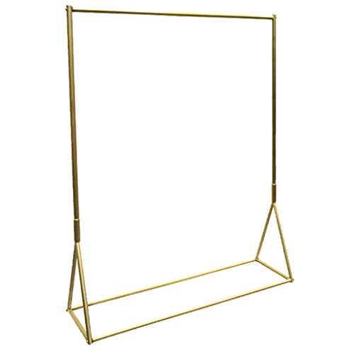 Nano Gold Clothing Store Display Stand, Not Falling Paint Paint Floor Hanger Rack, Multi-Size Selection