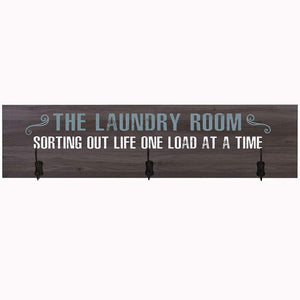 The Laundry Room Coat Hanger Wall Sign