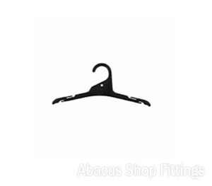 SHIRT HANGER BLACK - L12 (CARTON/250)