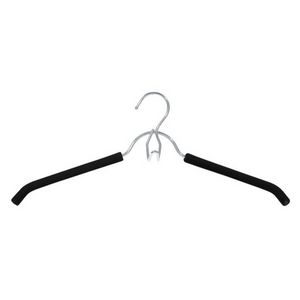 Closet Spice Chrome Shirt Hanger - Set of 6 (Black)