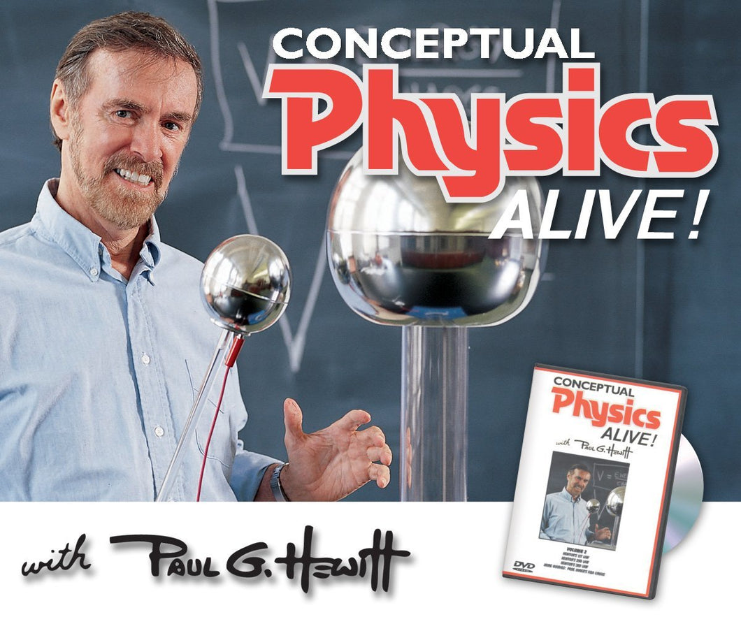 Conceptual Physics Alive: Newton's 1st, 2nd, 3rd Laws
