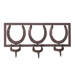 Lucky Horseshoe Coat Hanger - US