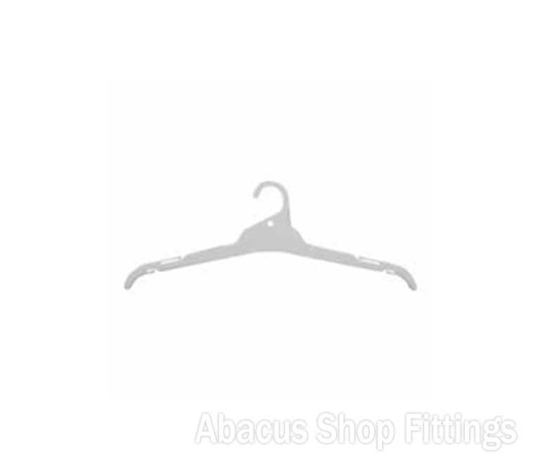 SHIRT HANGER WHITE - L15 (CARTON/350)