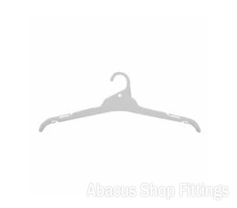 SHIRT HANGER WHITE - L19(CARTON/200)