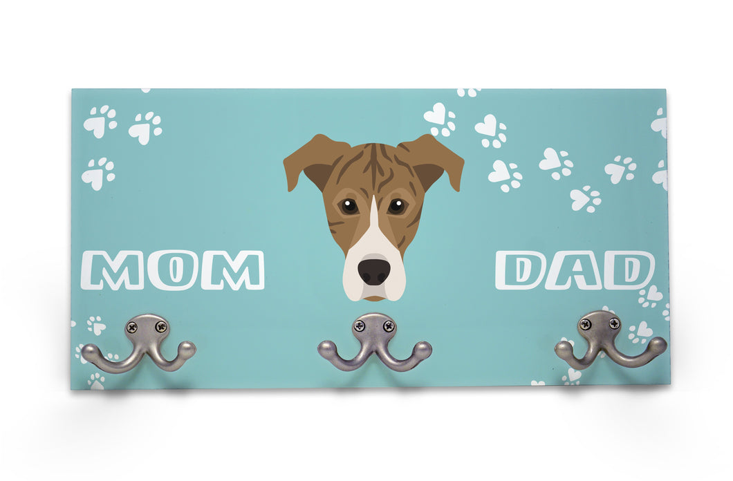Wall Mounted Coat Rack - Brindle Hound