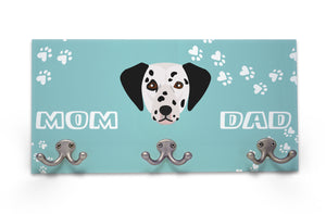 Wall Mounted Coat Rack - Dalmatian