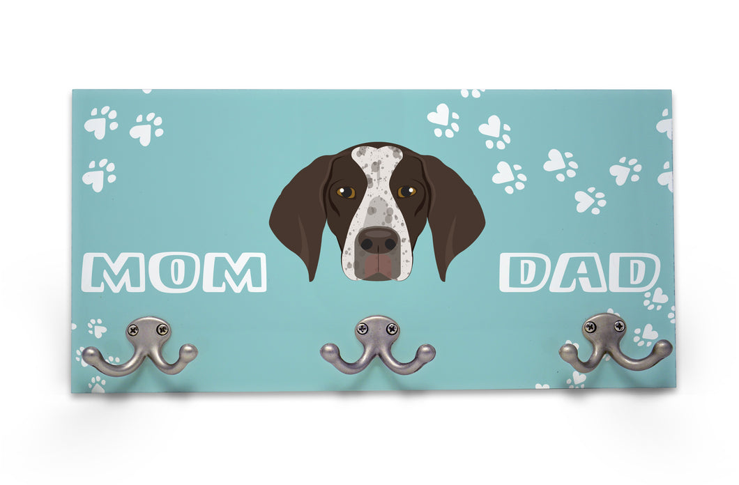 Wall Mounted Coat Rack - German Short Haired Pointer