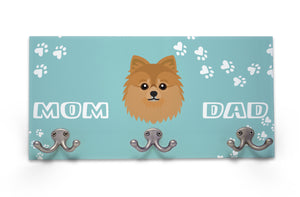 Wall Mounted Coat Rack - Pomeranian