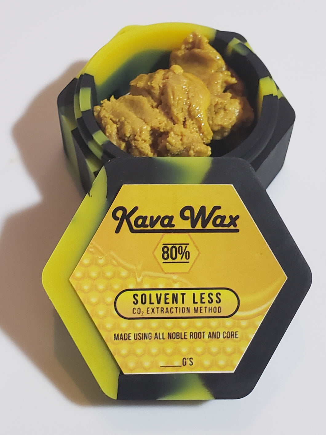 80% Kavalactone CO2 Extract - Yellow Crumble - Solventless - CO2 - Wax