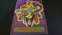 "Load image into Gallery viewer, Melt Into A Dream - Sticker - Slap On - 5"" long - Weatherproof - UV Resistant - Vinyl Base"