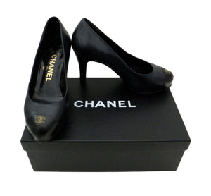 Authentic Chanel Classic Runway Pumps