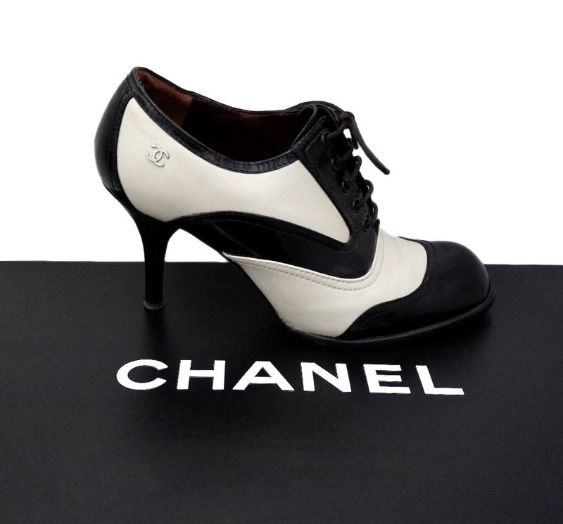 Authentic Chanel Runway Ankle Boots
