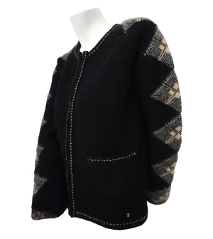 Authentic Chanel Runway Wool Sweater Size 42