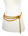 Chanel Vintage Classic Quilted Charm Belt/Necklace