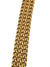 Chanel Vintage Rare Classic Turnlock Chain Necklace