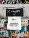 Chanel Runway Rare Logo Oversized Tweed Skirt