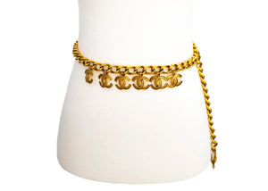 Chanel Vintage Rare Multi Charm Belt / Necklace
