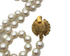 Chanel Vintage Pearl & Large Cross Iconic Pendant Necklace